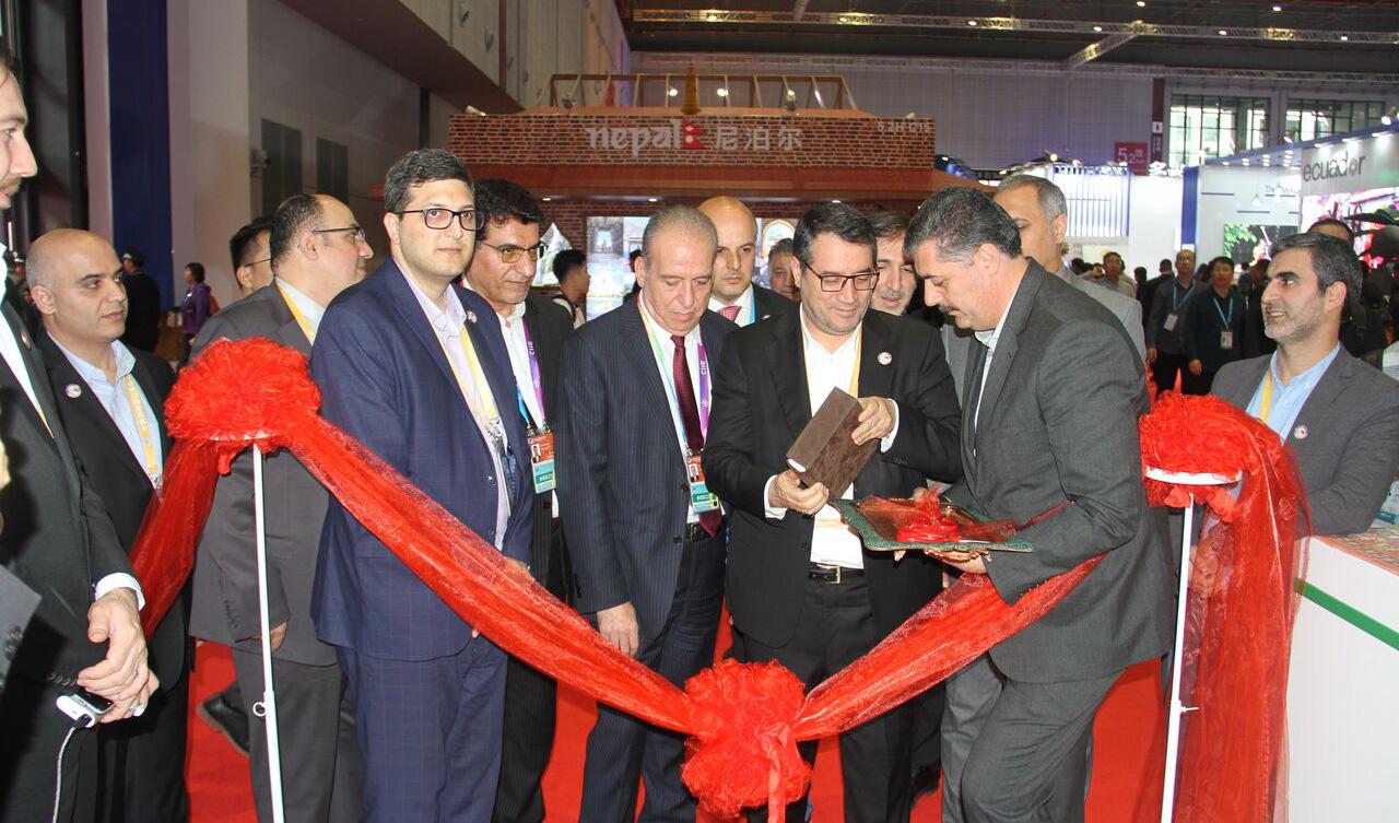 پاویون ایران در شانگهای با حضور وزیر صنعت گشایش یافت