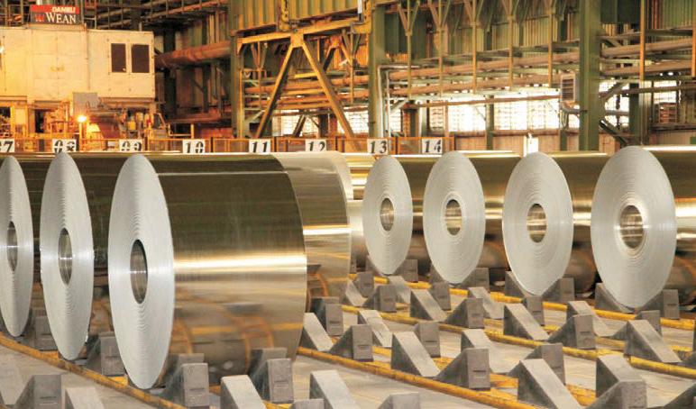بازار جهانی فولاد رو به رونق