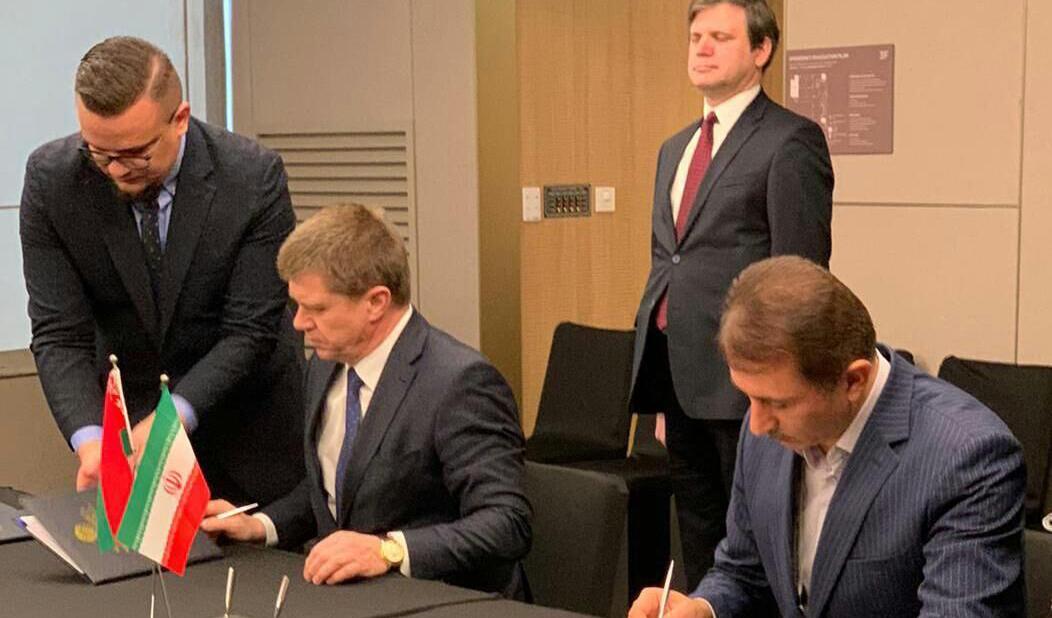 امضای موافقتنامه نظام ارتقای تجارت بین ایران و بلاروس