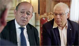 لو دریان: بقای برجام در خطر است/بورل: امیدواریم بتوانیم ایرانیها را قانع کنیم