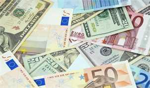 نرخ رسمی ۲۱ ارز پایین آمد