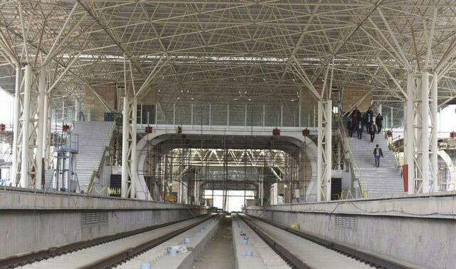 مترو گلشهر- شهر جدید هشتگرد با حضور رئیسجمهور افتتاح شد