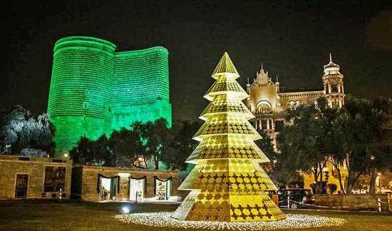 زیباترین مکان های توریستی آذربایجان با تور باکو