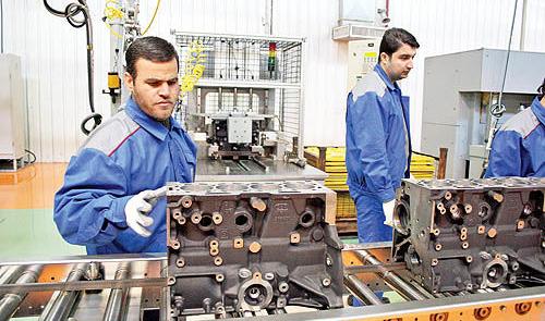 جذب ۴۰ هزار نفر در صنعت قطعهسازی با رونق خودروسازی