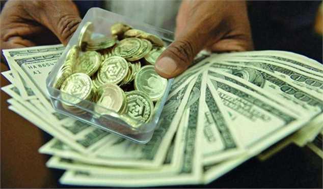 آخر دی ماه، ارز ارزان و سکه گران شدارزسکه و فلزات گرانبها