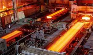 رشد تولید فولاد خام ایران ۱۰ برابر رشد جهانی