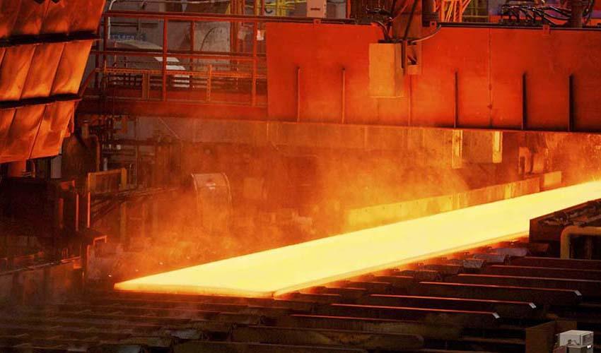 صادرات ۷.۷ میلیون تن شمش و تولیدات فولادی