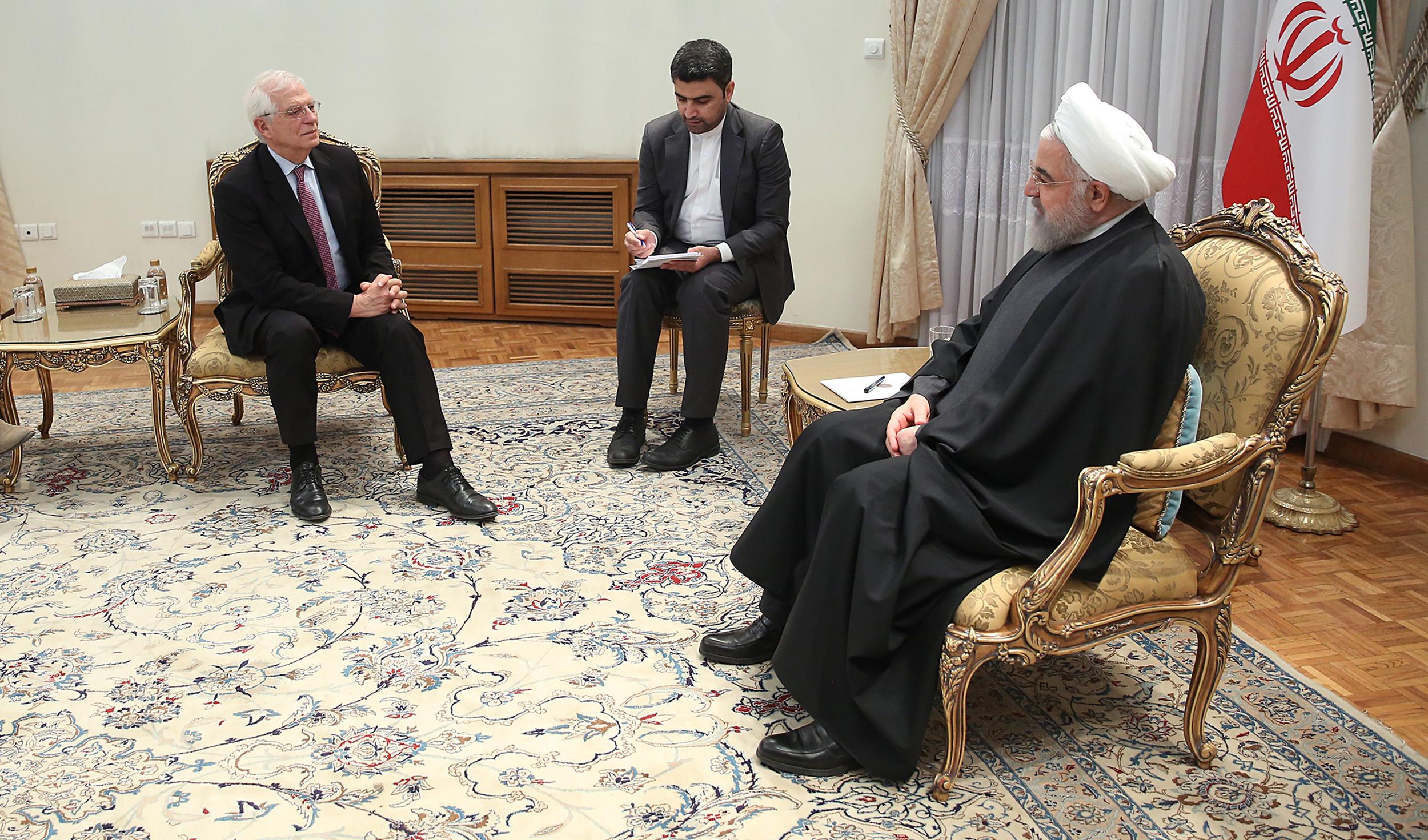 اعلام آمادگی روحانی برای همکاری با اروپا