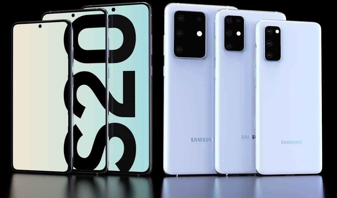 قیمت گوشیهای هوشمند سری گلکسی S20 منتشر شد