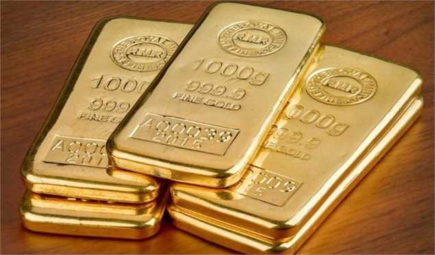 قیمت هر اونس طلا به ۱۵۷۴ دلار و ۶۹ سنت رسید