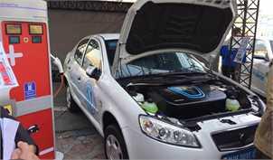 اولین خودروی تمام برقی ایرانی رونمایی شد (+تصاویر)