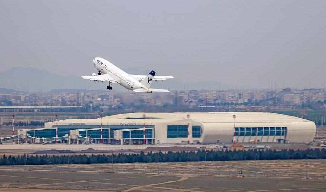 پروازهای مسافری به چین متوقف است