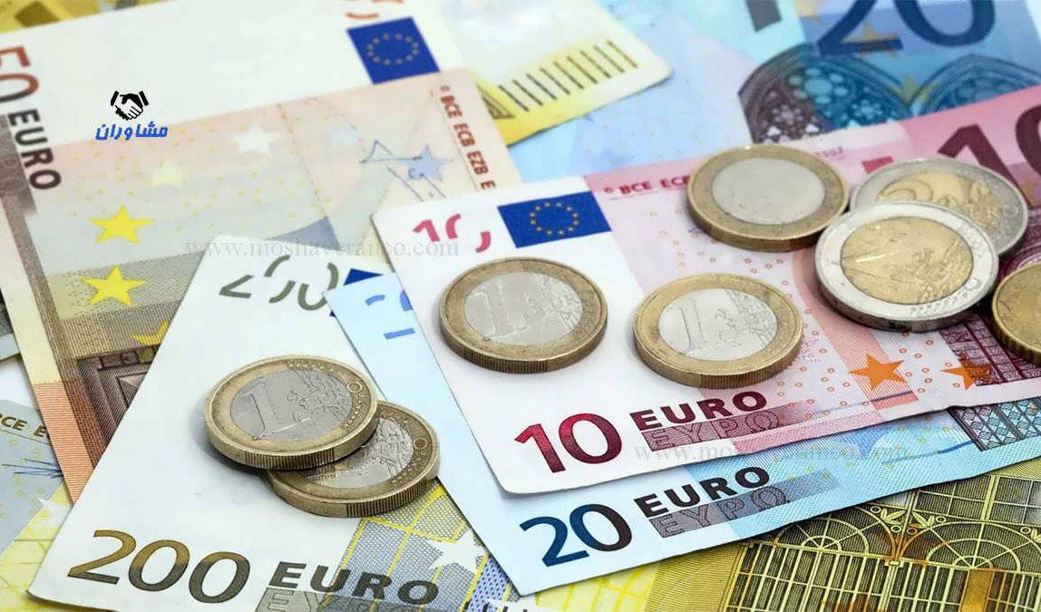 نرخ رسمی یورو و ۲۶ ارز دیگر بالا رفت