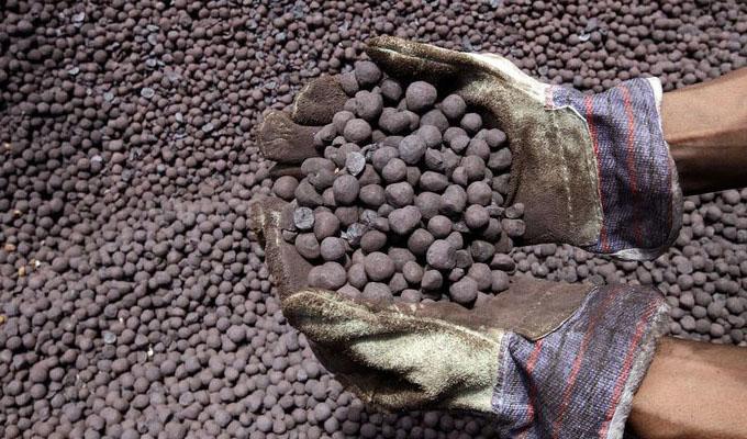 تولید کنسانتره، گندله و آهن اسفنجی به ۶۰ درصد ظرفیت رسید