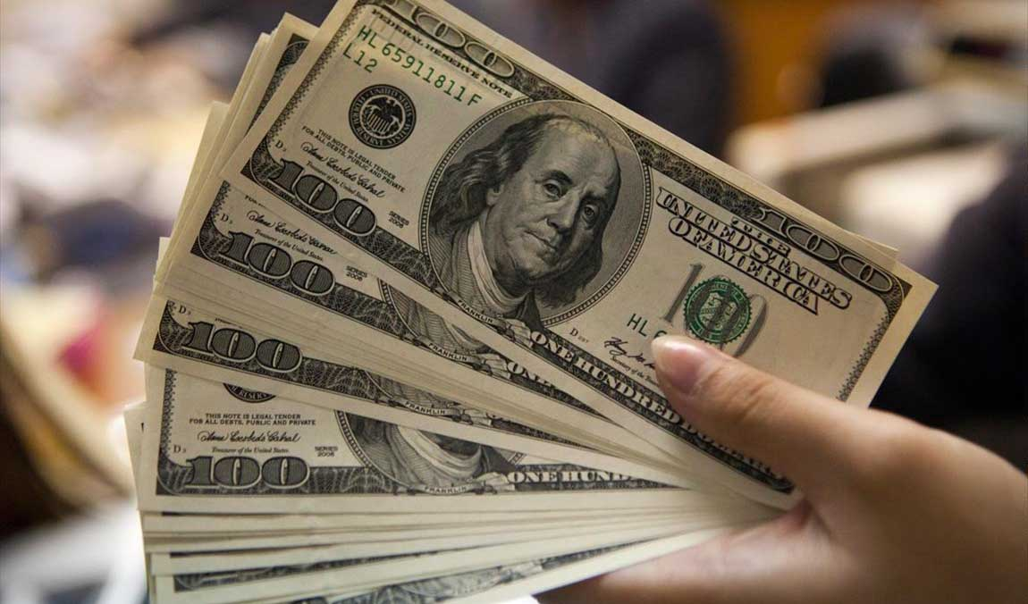 دلار در سرازیری