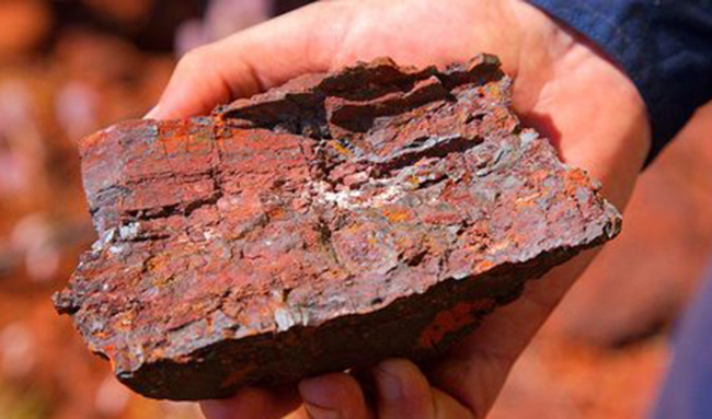 دستیابی به رشد بیش از ۱۷ درصدی در استخراج سنگ آهن