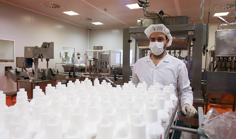کمک ۱۰۴شرکت در تولید اقلام بهداشتی