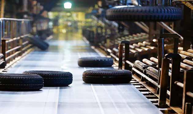 رشد پنج درصدی تولید تایر تا پایان بهمنماه