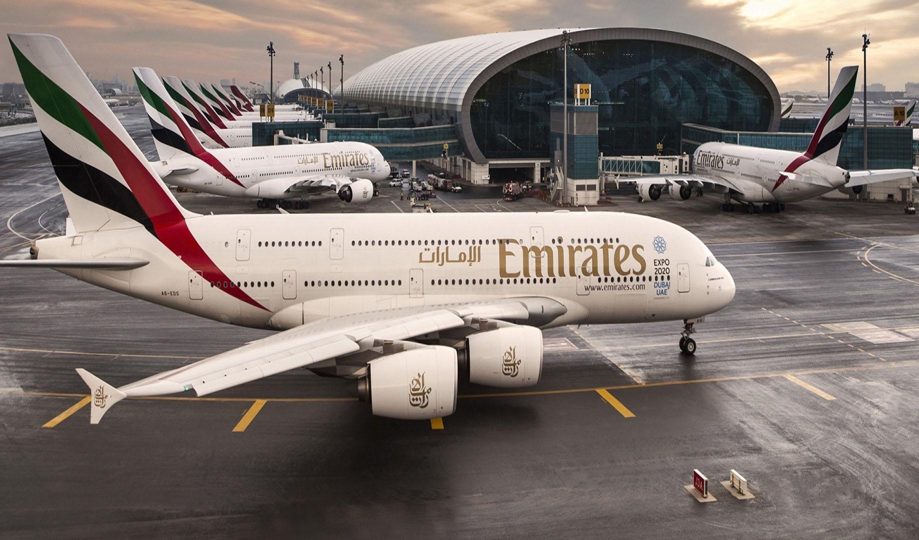 تمامی پروازهای مسافری هواپیمایی امارات لغو شد