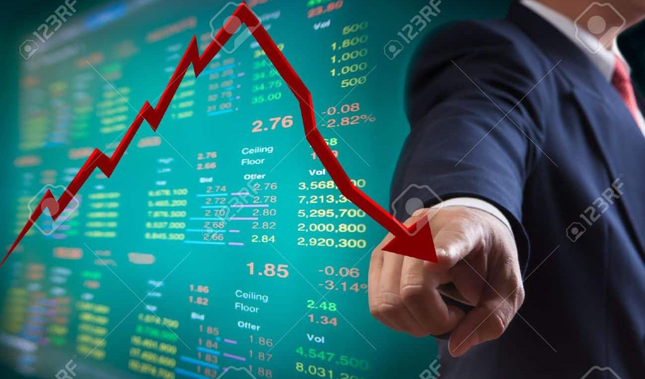 تاثیر شیوع کرونا بر کاهش ارزش بورسهای جهانی