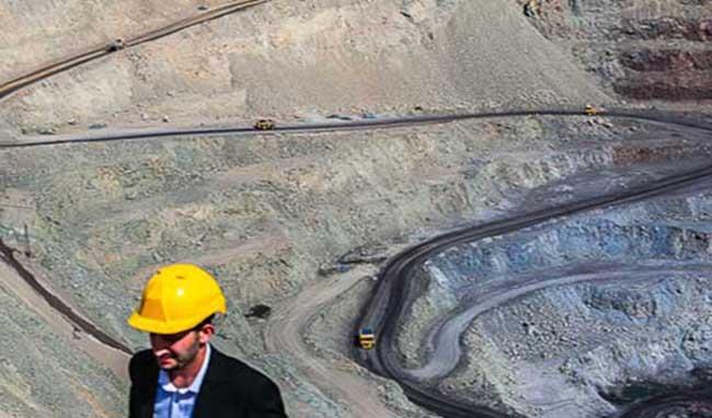 فعالیت برروی بیش از 652 هزار کیلومتر مربع پهنههای معدنی