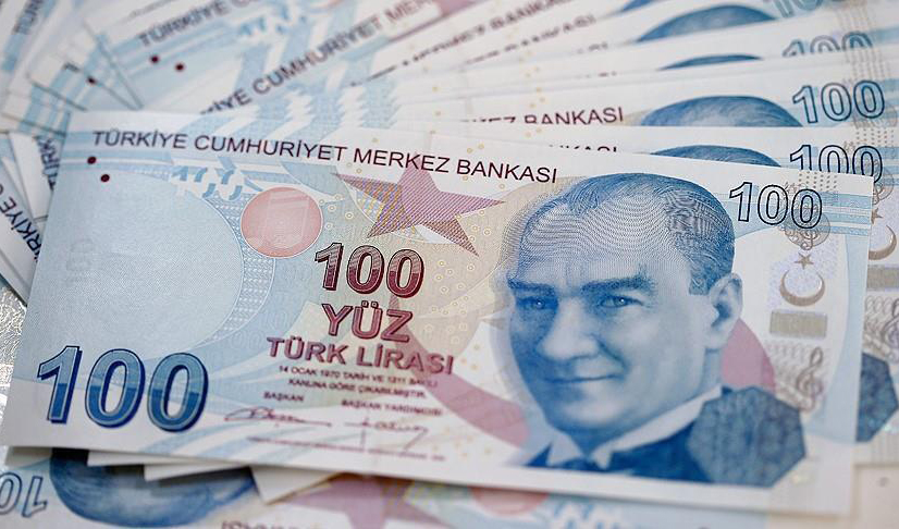 لیر ترکیه به قعر ۱۸ ماهه رفت