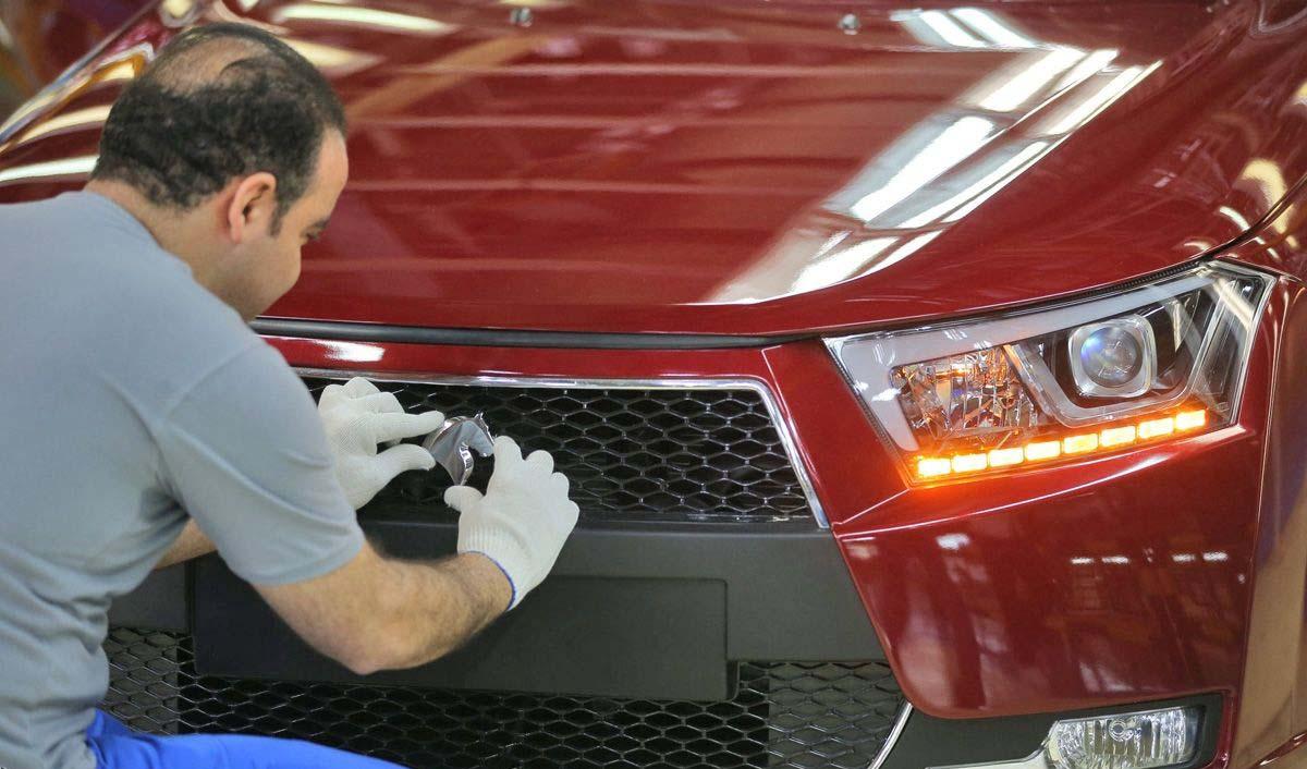 ایران خودرو پیشتاز تولید محصول داخلی با کیفیت