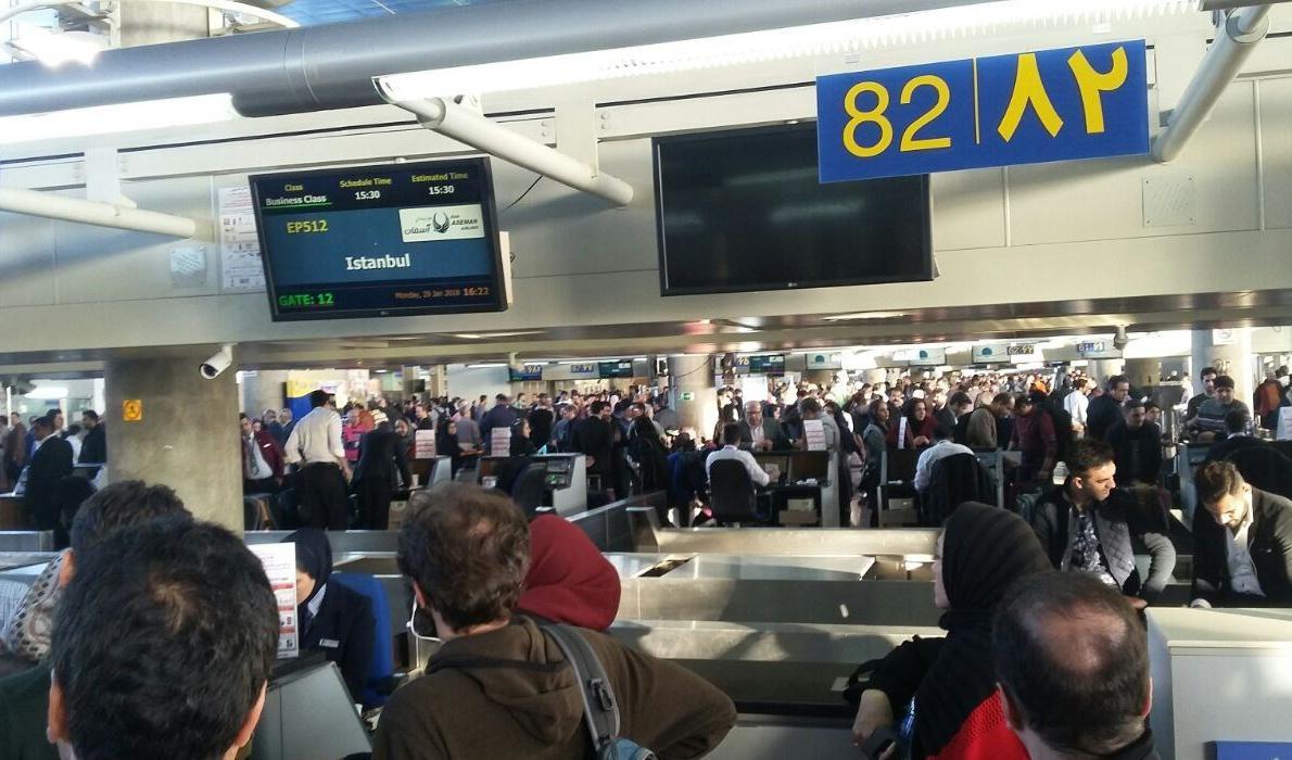 ایرلاینهای خارجی پول بلیت مسافران ایرانی را بطورکامل برمیگردانند