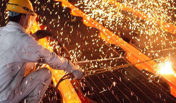 رشد تولید فولاد، شمش آلومینیوم و سیمان