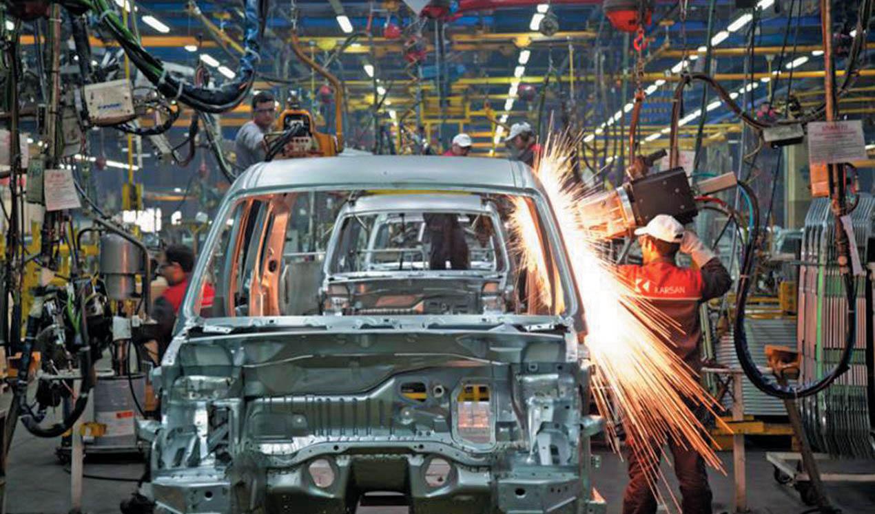 کاهش ارزبری ۵ میلیون یورویی در تولید خودرو تا تیرماه