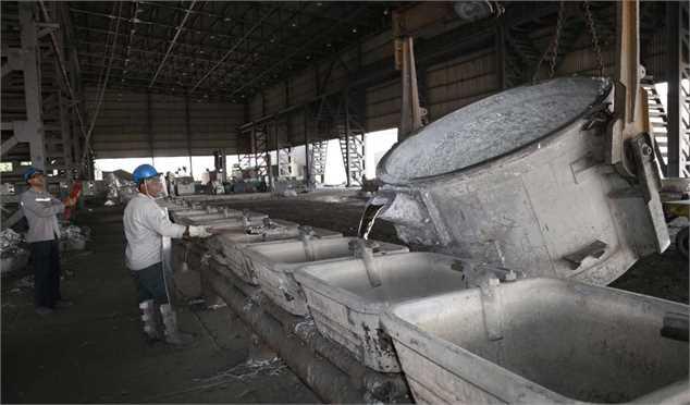 جهش تولید آلومینیوم و افزایش تولید آهن اسفنجی