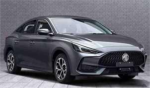 فیسلیفت ام جی 5 مدل ۲۰۲۱ برای بازار چین عرضه شد