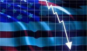 بدترین سقوط اقتصادی تاریخ آمریکا/ اقتصاد ۳۱.۴ درصد آب رفت