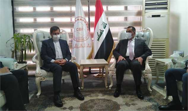 در دیدار همتی با همتای عراقی خود چه گذشت؟