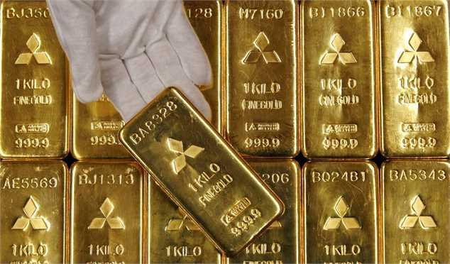قیمت جهانی طلا امروز ۹۹/۰۷/۲۵