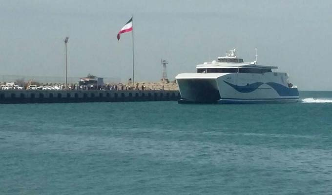 سفر دریایی بین المللی از بنادر ایران آغاز شد