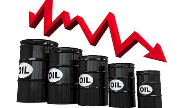 نفت برای چهارمین روز متوالی کاهش یافت