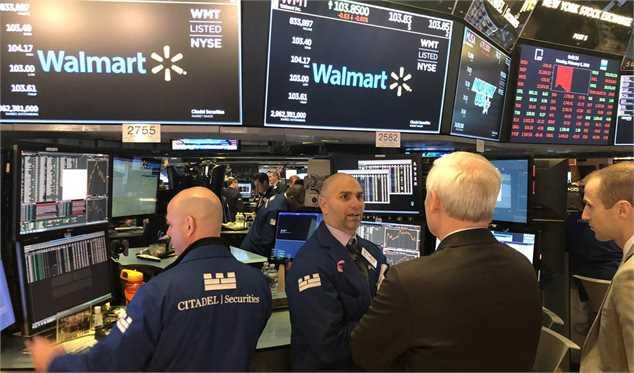بدترین افت سهام داوجونز ایالات متحده