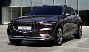 جنسیس GV70 مدل ۲۰۲۲ به عنوان دومین شاسی بلند لوکس این برند معرفی شد