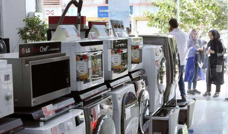 کاهش ۵۰ درصدی خرید لوازمخانگی در بازار