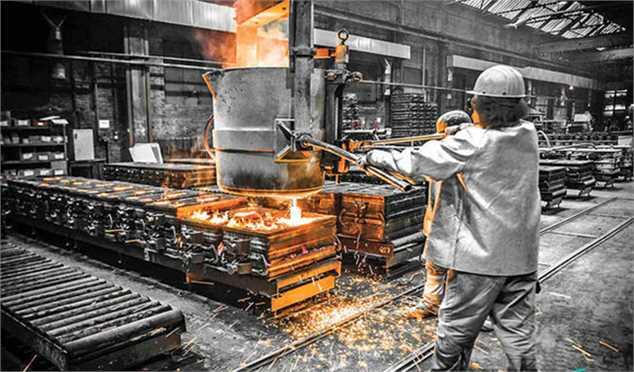 افزایش ۴.۵ درصدی تولید فولاد خام ایران