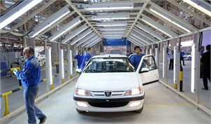 رکورد بی سابقه ایران خودرو در تولید روزانه