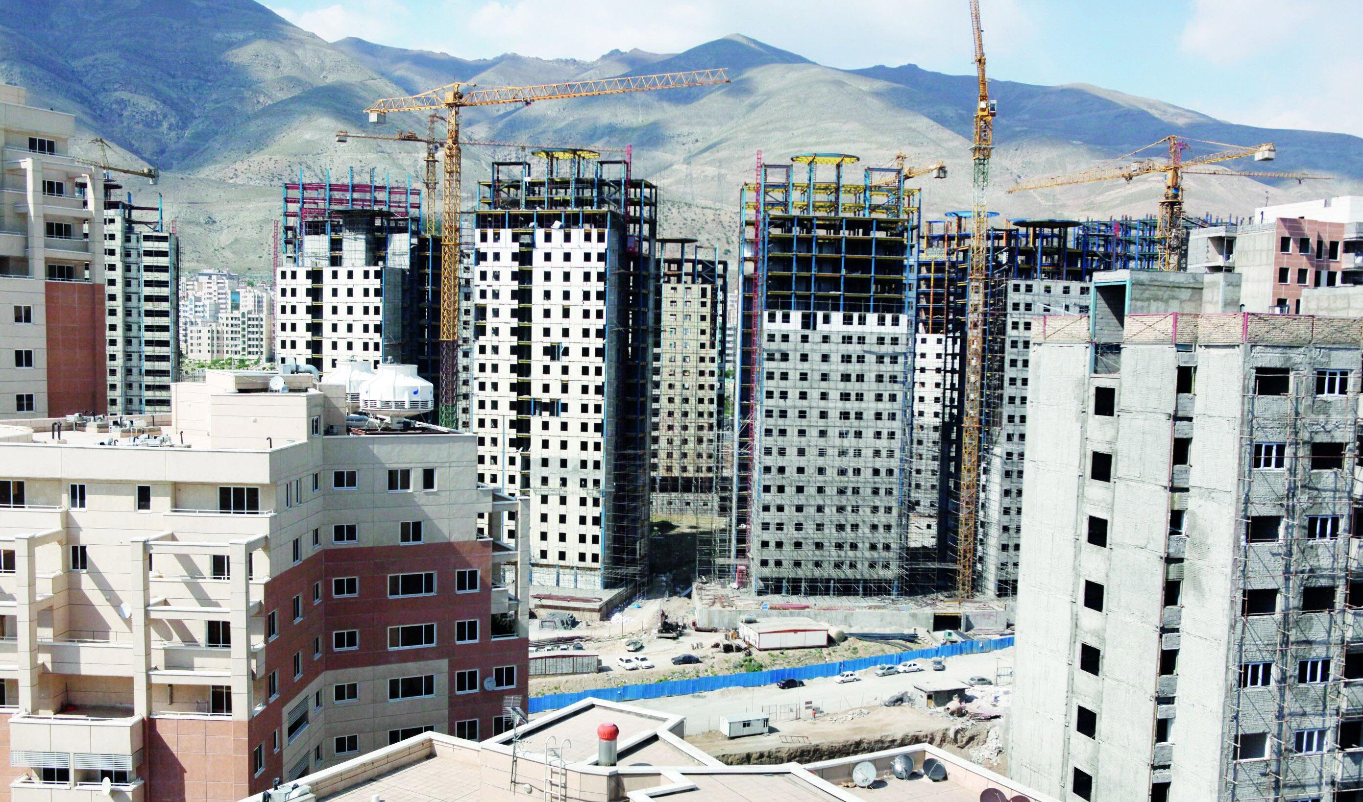 ساخت مسکن در تهران چقدر تمام می شود؟
