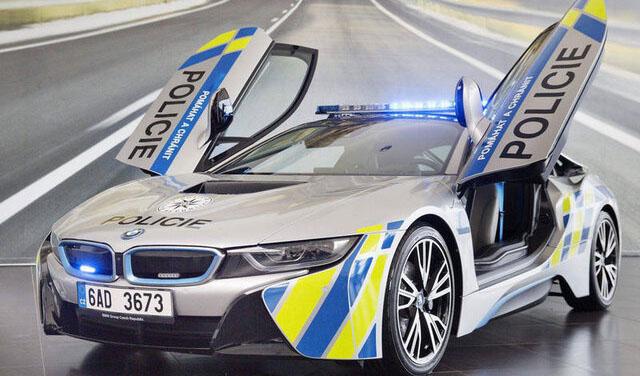 ۱۰ خودروی لوکس پلیس در دنیا+عکس