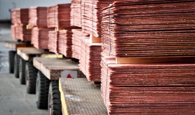 صادرات ۸۰ هزار تنی کاتد مس