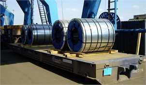 افت ۱۳ درصدی صادرات فولاد در پایان فصل سوم