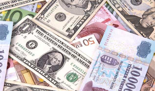 جزییات قیمت رسمی انواع ارز/نرخ رسمی یورو و پوند کاهش یافت