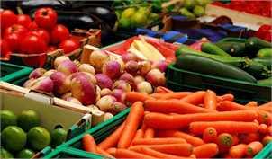 قیمت میوه و صیفی پرمصرف در مرکز عمده فروشی