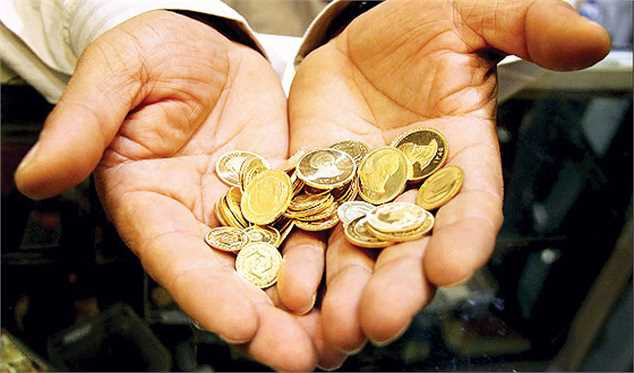کاهش ۱۰ هزار تومانی قیمت سکه