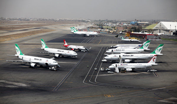 ١٢ پروژه عمرانی و هوانوردی در فرودگاه مهرآباد افتتاح شد